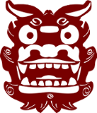 shisaa.be Logo depicting a Shisaa demon